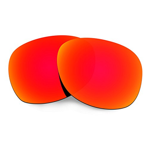 HKUCO Plus Mens Replacement Lenses For Ray-Ban Wayfarer RB2132 55mm Sunglasses Red Polarized