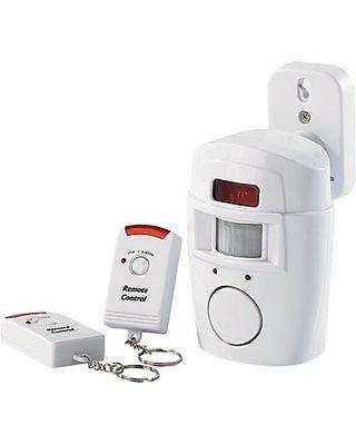 Sistema Alarma 105dB con detector de movimiento Presence + 2mandos a distancia