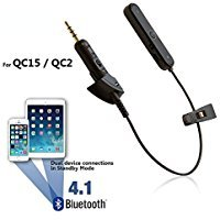 [REYTID] Bluetooth-Adapter für QC2/QC15 von Bose Kopfhörer - Funk-Konverters Empfänger für QuietComfort Noise Cancelling Kopfhörer