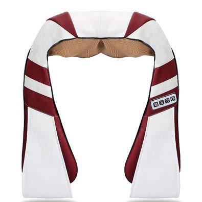 Freedom Shiatsu Nacken- Und SchultermassagegeräT, 12 Knetende MassageköPfe/Intelligentes Timing/Lindern MüDigkeit/FöRdern Die Durchblutung/Sind Leicht Zu Reinigen