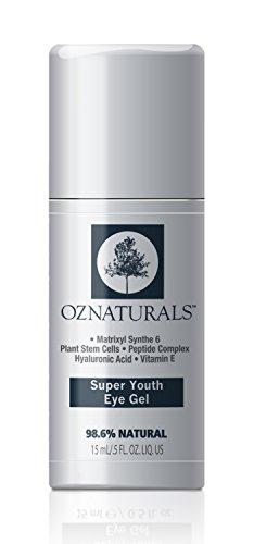 OZNaturals Super Verjüngendes Augengel - kaschiert dunkle Augenringe, Schwellungen, Falten -Standard