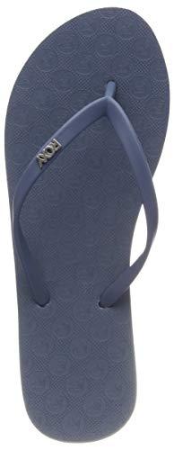 Roxy Viva IV, Zapatos Playa Piscina Mujer, Azul Dusk