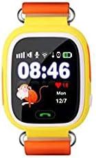 ساعة ذكية للأطفال شاشة تعمل باللمس مع نظام تحديد المواقع لتحديد المواقع ومكالمات الهاتف ضد فقدان البنين والبنا