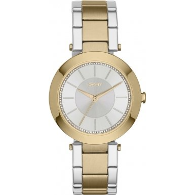 DKNY (DNKY5) Women's Quartz Watch with Gold Dial Analogue Display and Gold Stainless Steel Bracelet