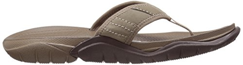 Crocs Swiftwater M, Tongs - Homme Marron (Walnut/Espresso)