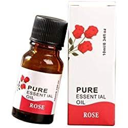Zarupeng 10 ml 100% Pure & Natural Aromaterapia aceites esenciales y cuidado de la piel (E)