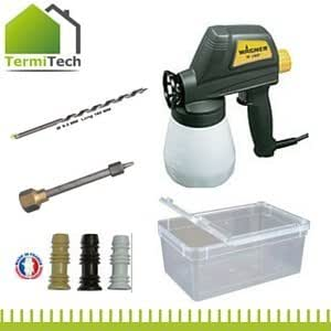 pistolet electrique complet traitement des bois pr t l 39 emploi traitement charpente pour. Black Bedroom Furniture Sets. Home Design Ideas