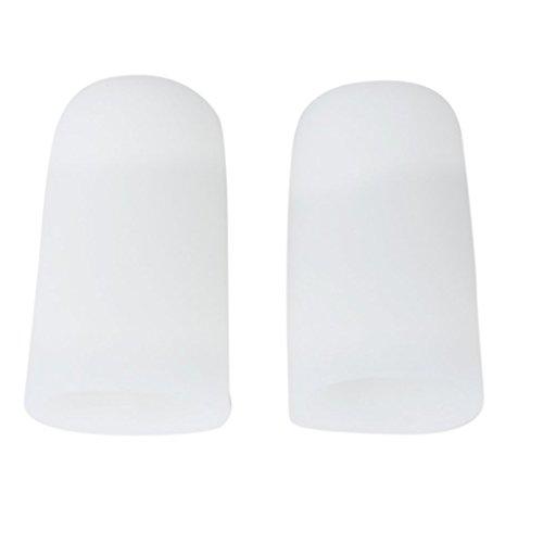 1 Par Gel Silicona Protectores Caps De Dedo Pie Para Prevenir Ampollas Callos L
