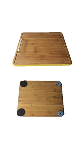 Gleitbrett Holz-Gleiter Untersetzer aus Massivholz für Den Thermomix TM5 / TM31 und Weiteren Geräten ovaler Griff