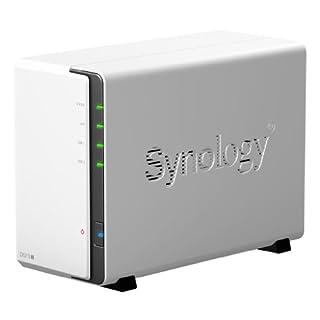 Synology DS212J NAS - Servidor (Serial ATA-300, hasta 6 TB, Raid Integrado, Adaptador de Red Integrado), Blanco (B005YW7OLM) | Amazon price tracker / tracking, Amazon price history charts, Amazon price watches, Amazon price drop alerts