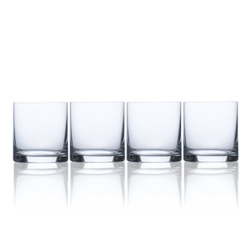 Mikasa bordeaux Iced Getränk Glas Double Old Fashion-Glas 15 oz farblos 15 Oz Double Old Fashioned