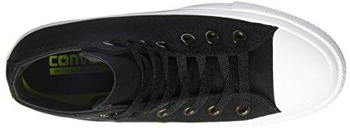 Converse CT II Hi, Sneakers Homme Noir (Black/white/navy)