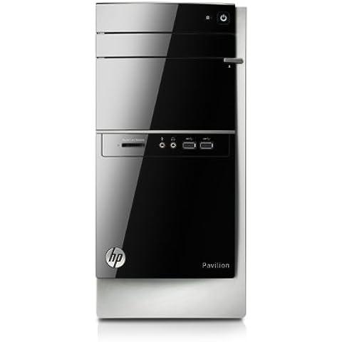 HP Pavilion 500-534nl Desktop, Processore serie A Quad Core AMD, 4 GB di DDR3, HDD SATA da 500 GB, Nvidia GeForce 705 1 GB DDR3, Nero