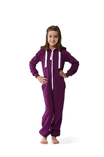 Jumpster Jungen und Mädchen Jumpsuit Kinder Overall Kids Deepest Purple M (134-140)