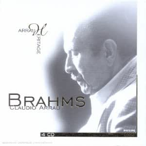 Claudio Arrau plays Brahms (Coffret 4 CD)