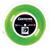 Gamma Tennissaite Moto Lime 16 (1.29 mm) 200 m Rolle, GZMOR