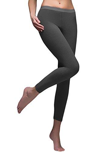 Wärme Holders Ladies 1 Packung SockShop Micro Base Layer Bottoms Small Black -