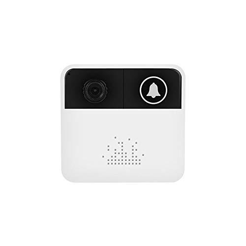 Preisvergleich Produktbild Video-Türklingel,  720P HD-Wifi-Sicherheitskamera Mit Klingeltönen,  Echtzeit-Zwei-Wege-Anruf Und Video,  Infrarot-Nachtsicht,  App-Fernbedienung