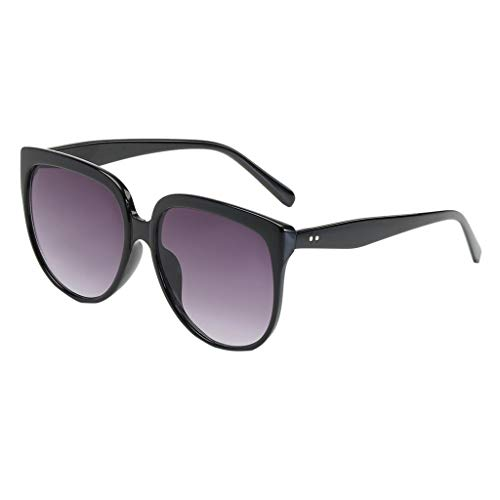 FBGood Sonnenbrille Unisex Vintage Retro Shaded Lens Mode Ultra Leicht Pilotenbrille Fashion Women Sunglasses Aviator Sonnenbrille Cool für den Sommer Damenbrillen Eyewear (B)