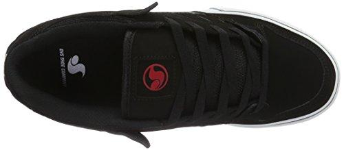 DVS Shoes Militia Ct, Chaussures de Skateboard Mixte Adulte Grau (Grey Black Red)