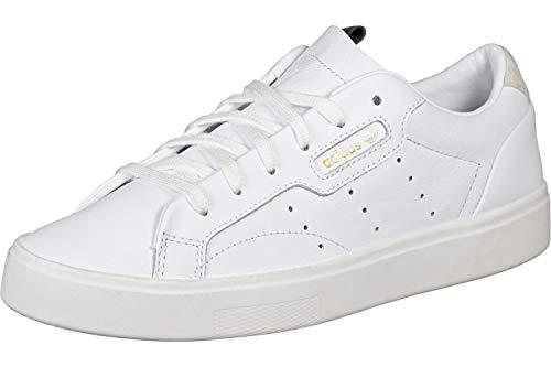 adidas Sleek Damen Sneaker Weiß