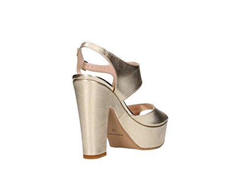 Martina B. 0228nova Sandalo Tacco Donna Platino