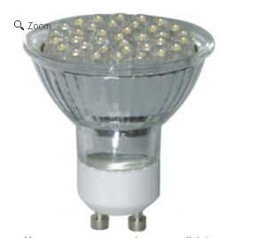 TP24 L1 GU10 2.5 Watt 36 Spot LED Light Bulb