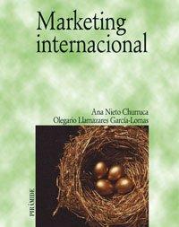 Portada del libro Marketing internacional (Economía Y Empresa)