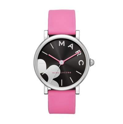 Marc Jacobs MJ1622 Pink Leather Ladies Classic Watch