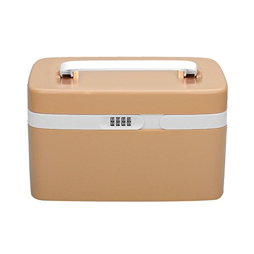 tsss-number-lock-child-proof-medicine-chest-4-compartments-portable-pill-drug-storage-boxbrown