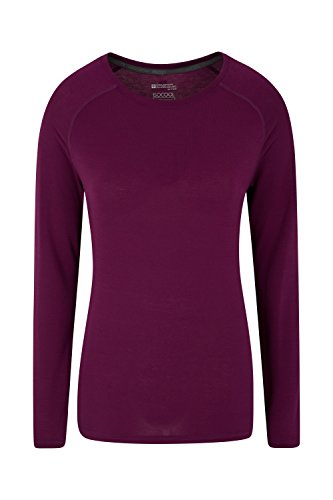 Mountain Warehouse T-shirt Femme Sous-Pull Manches longues absorbant IsoCool Dynamic Violet 44