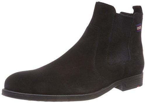 LLOYD PATRON, Herren Chelsea Boots, Schwarz (Schwarz 0), 43 EU (9 UK)