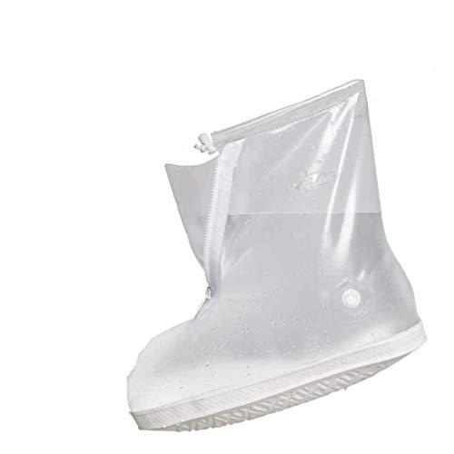 Cubierta impermeable del zapato, reutilizable hombres de ciclismo senderismo impermeable lluvia cubiertas...