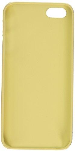 iCues Apple iPhone SE / 5S / 5 |  Luxus Muster Case Beige | [Display Schutzfolie Inklusive]  Schutzhülle Hülle Cover Schutz Beige