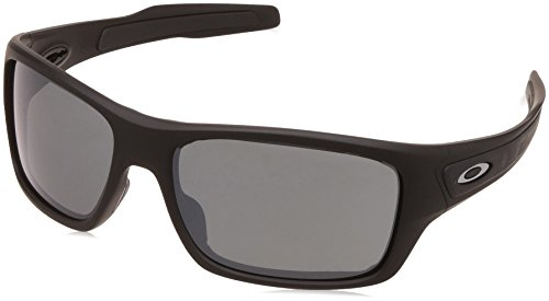 Oakley Herren Turbine OO9263 Sonnenbrille, Schwarz (Negro Mate), 0