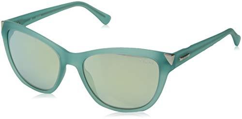 Guess Damen Sonnenbrille GU7398-5585X, Blau (Azul), 55