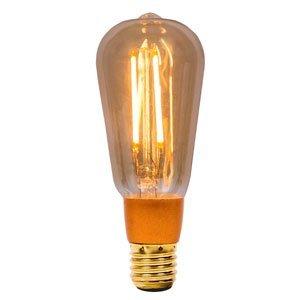 LED Dimmen Vintage Filament 4W E27Gold 2000K Bell