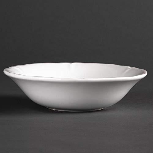 Olympia Rosa Flocons d'avoine bols 150 mm 150 mm/15,2 cm (Ø). Blanc. Quantité : 12.