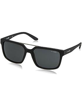Arnette Petrolhead, Gafas de Sol Unisex, Matte Black 01/87, 57