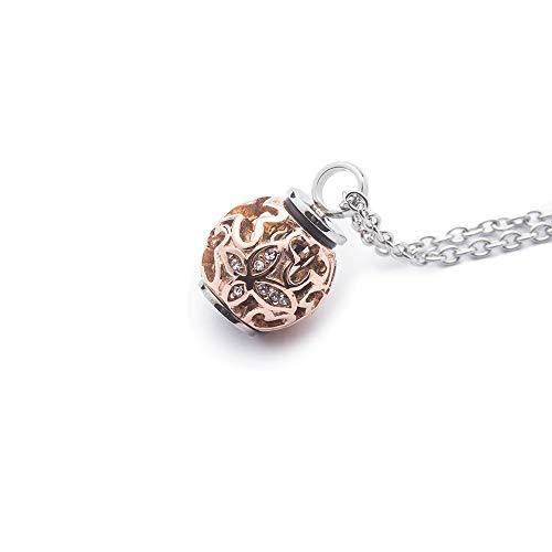 Cremation Jewelry Halskette für Asche mit Anhänger
