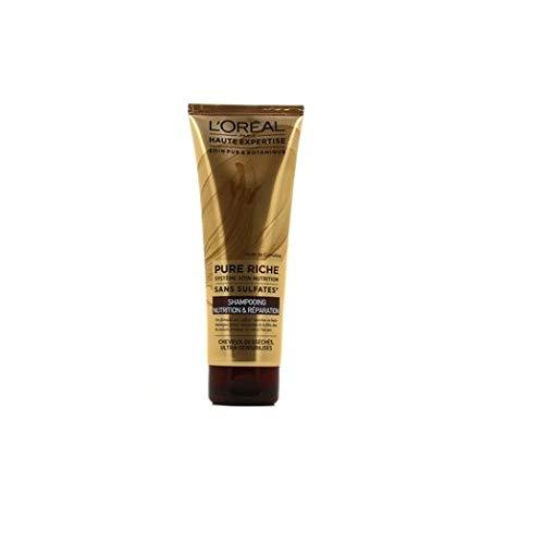 L'Oréal Paris Pure Riche Shampoing  Nutrition & Réparation 250 ML