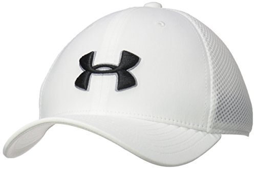 Under Armour Jungen Boy's Golf Classic Mesh 2.0 Kappe, White, S/M