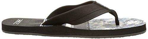 O'Neill Fm Imprint Pattern Flip Flops, Chaussures de Plage et Piscine Homme Grau (Grey Allover Print)