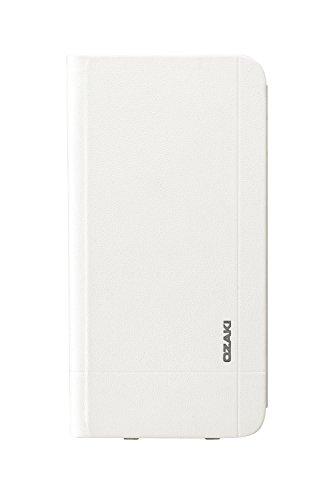 Ozaki OC558BK 0.3 Folio - stylische, dünne Klapp-Tasche aus widerstandsfähigem Kunstleder für das Apple iPhone 6 / 6S  - schwarz weiß