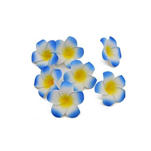 Strawberryran Plumeria 20Pcs / Lot 5~9cm Pe-Schaum-künstliche Blumen-Hausgarten-Partei-Dekoration Hochzeit, Burgund, M Cherry Blossom Vase Medium