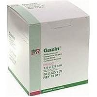 GAZIN Mullkomp.7,5x7,5 cm steril 8fach 50St. preisvergleich bei billige-tabletten.eu