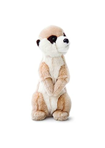 Thinking of You - 28cm Luv To Cuddle Meerkat Soft Toy Animal - For The Animal Lover - Comes With A Reusable Gift Bag - Popular Girl Girls Boy Boys Children Kids Child Present Gift Idea For - Well Done Good Marks Test Results In School
