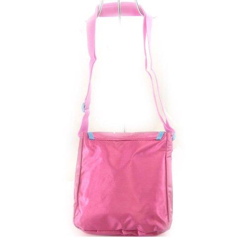 Bolsa de hombro 'Fée Clochette'satén rosa.