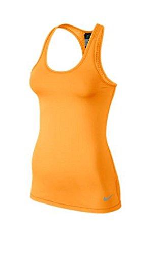 Nike -  Canotta  - Abbigliamento - Donna Arancione Bright Citrus/Grey Mist S