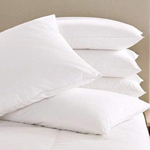 "SKYTOUCH Fiber Filled 1 Piece Pillow Set - 17"" x 27"", Antique White"